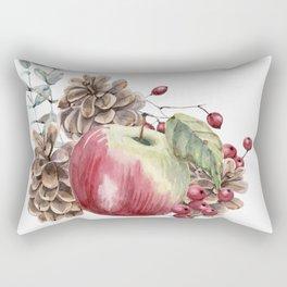 Winter Composition Rectangular Pillow