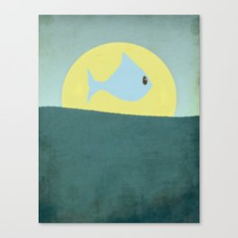 Something fishy! Canvas Print
