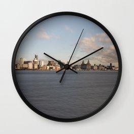 Liverpool Skyline Wall Clock