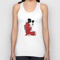 japan Tank Tops featuring JAPAN by Ivano Nazeri