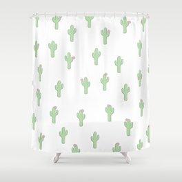 Cute As A Cactus Shower Curtain