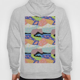 Abstract Postmodern Landscape Hoody