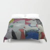 fairy tail Duvet Covers featuring Fancy Fairy Tail Arrangement One by X21DaysOfMoonX