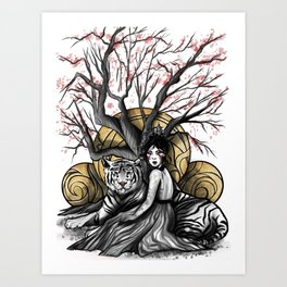 Godess of Creation Art Print