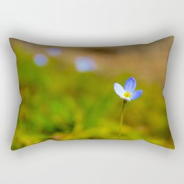 Spring in Bluet Rectangular Pillow