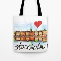 I love Stockholm Tote Bag