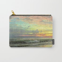 Coastal Newport, Rhode Island Landscape Painting by William Trost Richards Carry-All Pouch