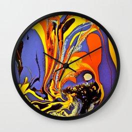 Color Explosion 5 Wall Clock