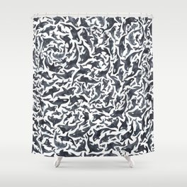 Whale, Orca Shower Curtain
