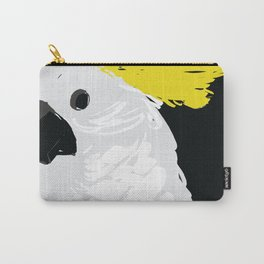 DinaFawakhiri_Sulfur Crested Cockatoo Carry-All Pouch