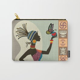 Afrocentric Chic I Carry-All Pouch