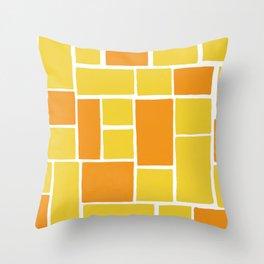 citrus patterns Throw Pillow