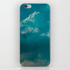 up in the clouds iPhone Skin