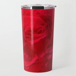 Bloomed Rose Profound Red Travel Mug