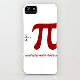 pi iPhone Case