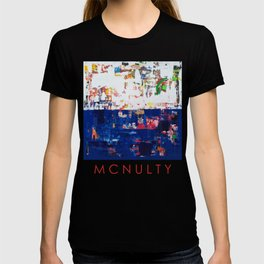 Myth Modern Art Blue T-shirt
