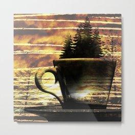 Cup of Tree Metal Print