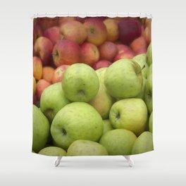 Fresh Apples Shower Curtain