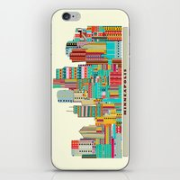 minneapolis iPhone & iPod Skins featuring Minneapolis city  by bri.buckley