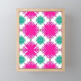 Island Tropical Garden pattern 2 Framed Mini Art Print
