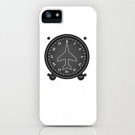 Directional Gyro Flight Instruments iPhone Case
