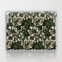 Botanic white Laptop & iPad Skin