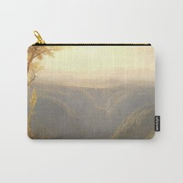 A Gorge in the Mountains by Sanford Robinson Gifford 1862 Carry-All Pouch
