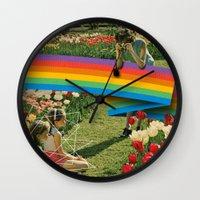 polaroid Wall Clocks featuring Polaroid by Blaz Rojs
