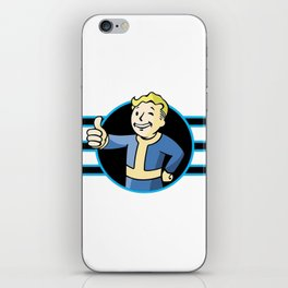 Fallout 4 Vault Boy Thumbs Up iPhone Skin