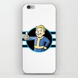 Fallout 4 Vault Boy Thumbs Up iPhone Skin