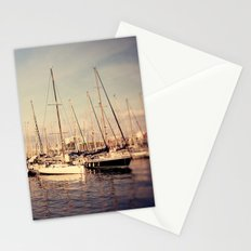Port Vell Barcelona Spain Stationery Cards