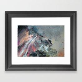 sonnet xvii abstract #3 Framed Art Print