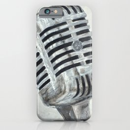 Vintage Microphone iPhone Case