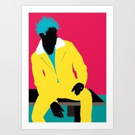 Menswear No:4 Art Print