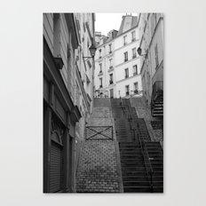 Climbing Paris Canvas Print