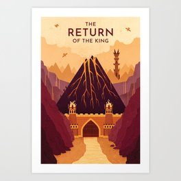 Return Print Art Print