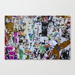 Little pieces Canvas Print