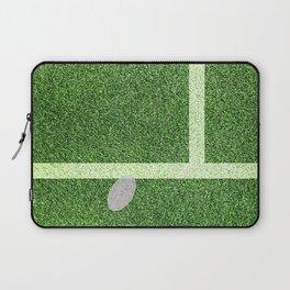 """""""IN"""" – Hawk-Eye - green Laptop Sleeve"""
