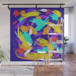 """""""Blue Emotions"""" Wall Mural"""