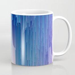 Fairy Glitches - Abstract Pixel Art Coffee Mug