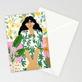 Floral fever Stationery Cards