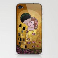 Kokeshi The Kiss iPhone & iPod Skin