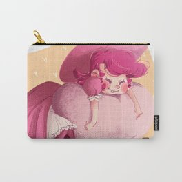 Pink Heart Witch 4 Carry-All Pouch