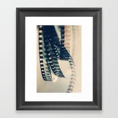super 8 film Framed Art Print