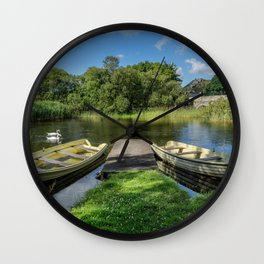 Swan Lake Wall Clock