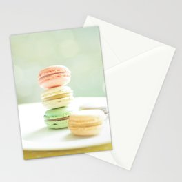 Hmmm Macarons Stationery Cards