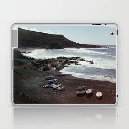 Boats on a beach Laptop & iPad Skin