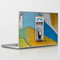 telephone Laptop & iPad Skins featuring Telephone by RMK Creative