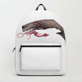 Epic battle between the sperm whale and the giant squid Backpack