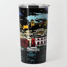 Ibiza Town Travel Mug